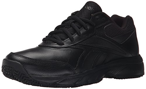 Reebok Women's Work N Cushion 2.0 Walking Shoe, Black/Black,