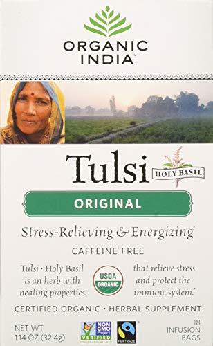 (Tulsi Original 18 Tea Bags - Pack of 2)