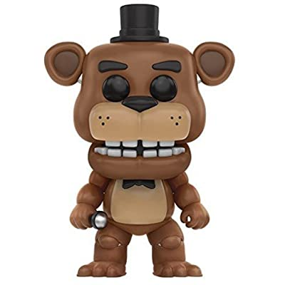 Funko Five Nights at Freddy's - Freddy Fazbear Toy Figure: Funko Pop! Games: Toys & Games