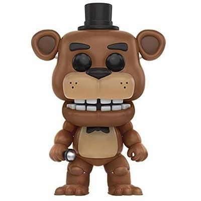 Funko Five Nights at Freddy\'s - Freddy Fazbear Toy Figure: Funko Pop! Games: Toys & Games [5Bkhe0306747]