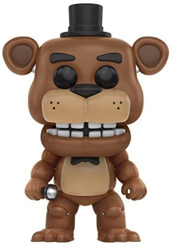 Funko Five Nights At Freddy S Freddie s Freddy Figura de Vinilo, coleccion de Pop, seria FNAF, Color Golden Brown (11029)