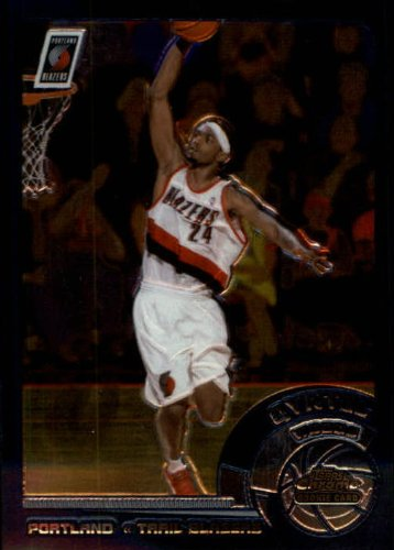 2002 Topps Chrome Basketball Rookie Card (2002-03) #140 Qyntel Woods Near (03 Topps Chrome Rookie Basketball)