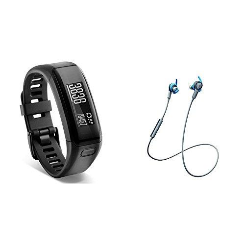 Vivosmart HR Activity Tracker with Jabra Bluetooth Headphones by Garmin