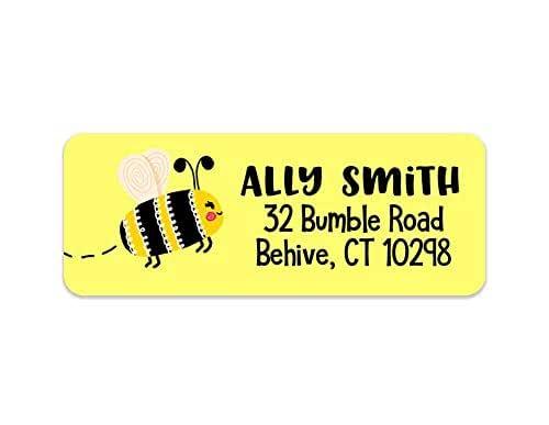 Butterfly Return Address Kids Butterfly Address Labels Waterproof Labels Kids Camp Labels 30 Labels Girls Address Labels