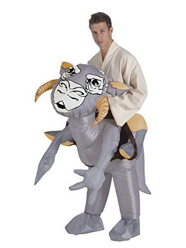 Star Wars Adult Inflatable Tauntaun Costume, Multi, Standard ()