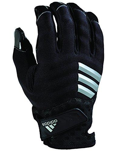 adidas Nastyquick Football Gloves, Black/Black, X-Large ()