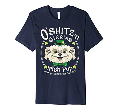 - Funny Shih Tzu T-shirt O'Shitz n Giggles Irish Pub
