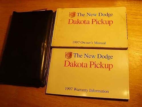 1997 dodge dakota owners manual dodge amazon com books rh amazon com 1997 dodge dakota factory service manual 1995 Dodge Dakota