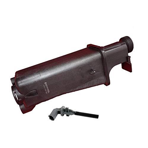 Sentinel Parts Radiator Coolant Overflow Expansion Tank Bottle Reservoir with Sensor for BMW 17137787039 ()