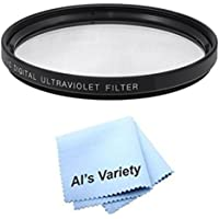 58mm High Resolution Clear Digital UV Filter with Multi-Resistant Coating for Olympus Evolt E-1, E-3, E-30, E-300, E-330, Evolt E-410, Evolt E-420, Evolt E-450, Evolt E-500, Evolt E-510