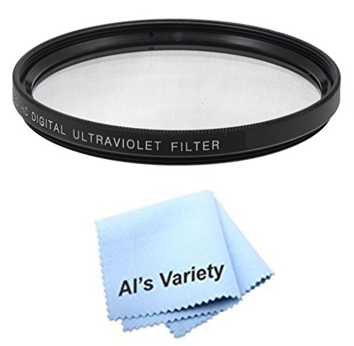 58mm High Resolution Clear Digital UV Filter with Multi-Resistant Coating for Sony Cybershot DSC-F707, DSC-F717, DSC-F828, DSC-H1, DSC-H10, DSC-H2, DSC-H3, DSC-H5