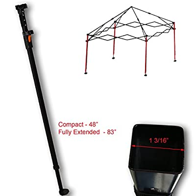 Canopy Adjustable Leg for Ozark Trail, First UP, ABBA Instant 10' x 10' Straight Leg Canopy Gazebo with Slider and Cap Replacement Parts: Garden & Outdoor