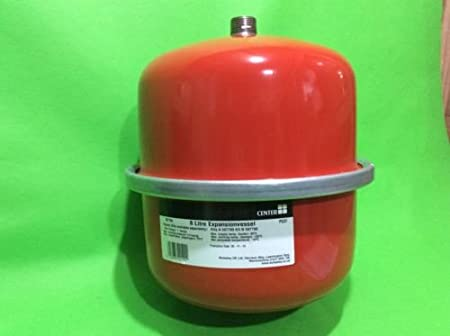 Center Brand 8 Litre Central Heating Expansion Vessel 597784 *NEW ...