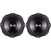 2 Rockford Fosgate Punch P3D4-12 12 2400 Watt Dual 4 Ohm Car Subwoofers Subs