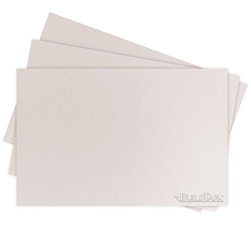 BuildTak BT625x925WT-3PK Sheet, 6.25'' x 9.25'', White by BuildTak