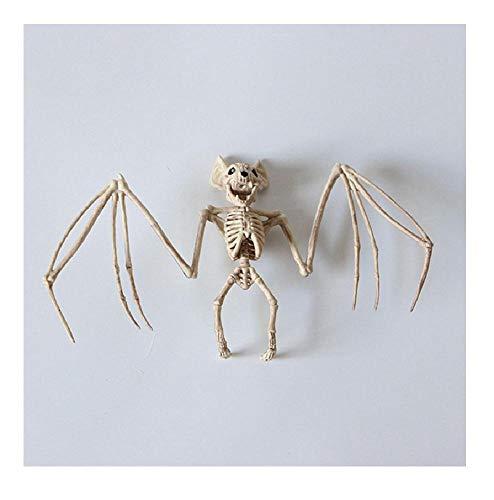Halloween Decor 100% Plastic Animal Skeleton Bones Horror Christmas Prop Crow 1 OneSize]()