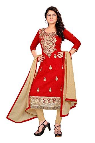 Rozdeal-Womens-Chiffon-Salwar-Suit-Dress-Material