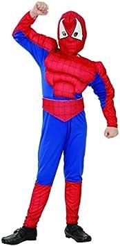 Disfraz Superhéroe hombre araña niño - 4 - 6 años: Amazon.es ...