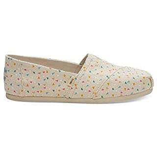 TOMS Beige Multi Colour Confetti Women's Classics (Size: 8.5) (B07776RVX4) | Amazon price tracker / tracking, Amazon price history charts, Amazon price watches, Amazon price drop alerts