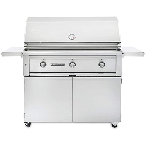 Sedona By Lynx 36-Inch Natural Gas Grill On Cart With ProSear Burner and Rotisserie by Lynx
