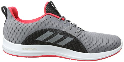 De Chaussures S16 Red Gris grey Running shock V Three Element Femme F17 Adidas qgS6tt