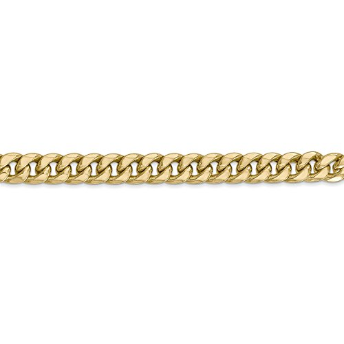 ICE CARATS 14k Yellow Gold 6mm Miami Cuban Bracelet Chain 8 Inch Fine Jewelry Gift Set For Women Heart by ICE CARATS (Image #4)