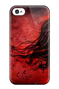 Excellent for iphone 4/4s Case Tpu Cover Back Skin Protector Gothic