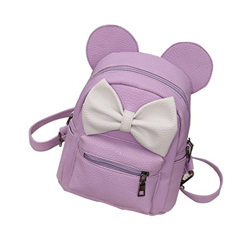 USHOT 2018 New Mickey Backpack Female Mini Bag Women's Backpack