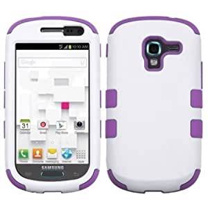 Bloutina MYBAT Hybrid Dual Layer Phone Protector Cover for Samsung Galaxy Exhibit T599 - Carrying Case - Retail Packaging...