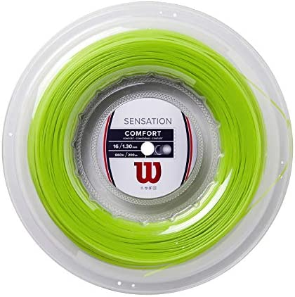 Wilson Sensation 16g ネオングリーン テニスストリングリール