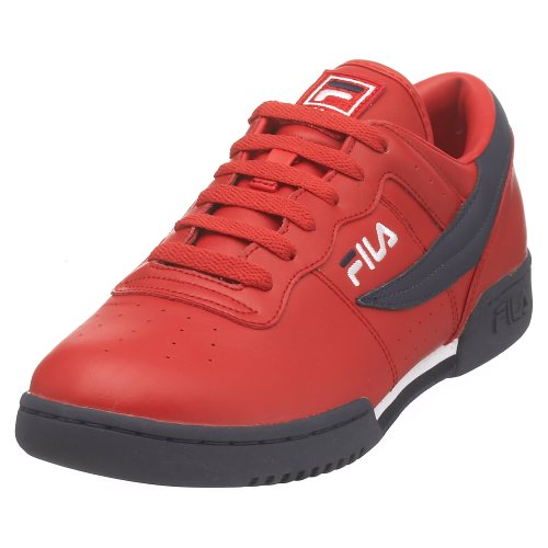 Original Fitness Sneaker - Fila Men's Original Fitness Fashion Sneaker, Red/Navy/White, 10.5 M US