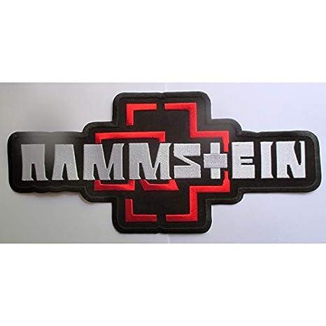 hotrodspirit Gro/ße Patch des Fraktion Ramstein 32/cm Ecusson-zum Aufb/ügeln Fraktion Rock Roll