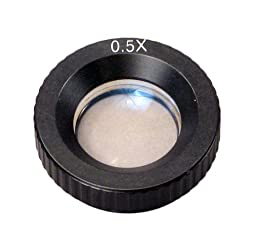 OMAX 0.5X Auxiliary Objective Lens for Stereo Microscope D48mm