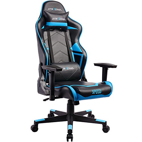 Gtracing Best Gaming Chair Office Racing Chair Gt102 Blue