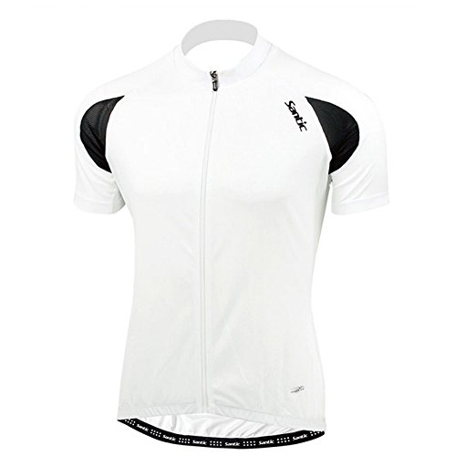 Santic Cycling Quick-dry Men Wicking Breathable Jacket Short-sleeve Jersey Size XL