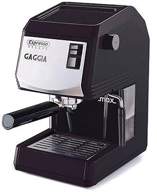 Gaggia 87003 Espresso De Luxe Espresso Machine, Black