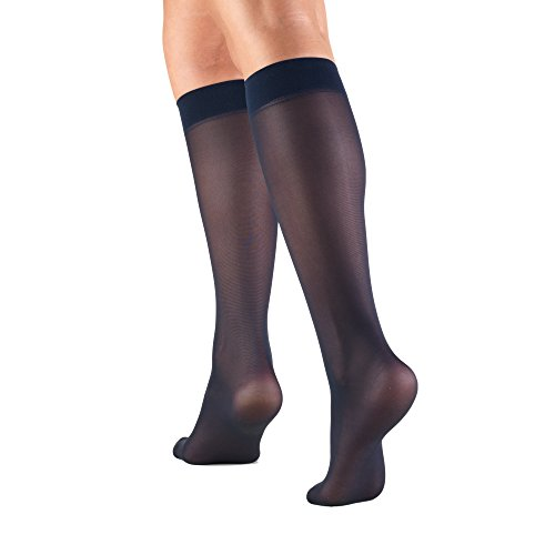 Truform Womens Sheer Compression Stockings
