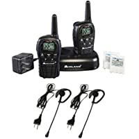 Midland LXT500VP3 22-Channel GMRS Consumer Radio Kit with 1 pair of Midland AVP1 Headsets