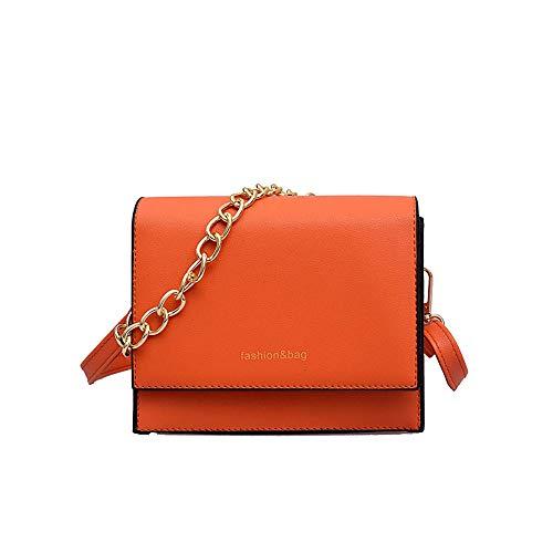 Dames Messenger Wind Port oranje draagtas Rugzak draagtas Wild Eenvoudige Handtassen Tide Familizo Small Hand nSvaXwB