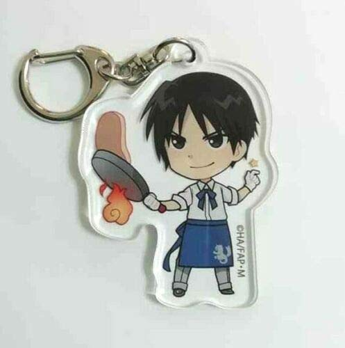 Fullmetal Alchemist Acrylic Keychain Strap Roy Mustang Princess Cafe Anime F/S