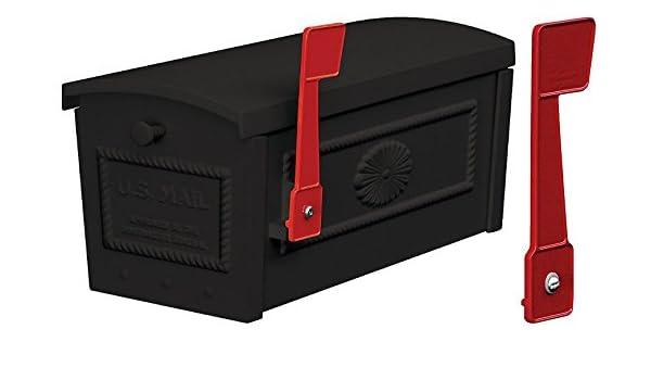 Amazon com: Salsbury Townhouse Mailbox - Post Style - Black + Extra