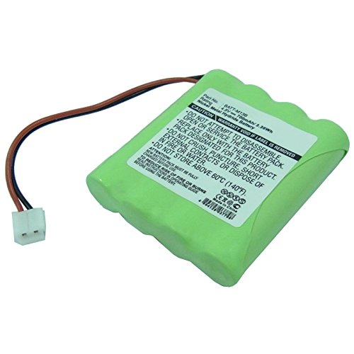 Exell 4.8V 700mAh Baby Monitor Battery for Graco M, Graco...