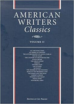 Book American Writers Classics: Vol 2