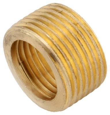 Anderson Metals 736140-1208 Pipe Fitting, Face Bushing, Lead-Free Brass, 3/4 x 1/2-In. - Quantity -