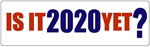 HumperBumper.com Car Magnet for Cars, Trucks - is It 2020 Yet? - Professionally Printed | Made in USA - 3