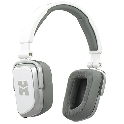 HIFIMAN MWA10CR71-E Edition S Close/Open Back Portable On-Ear Dynamic Headphones White Lightning ()