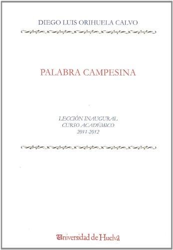 Descargar Libro Palabra Campesina Diego Luis Orihuela Calvo