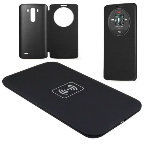 Click to buy Wireless Charger Charging Pad+Quick Circle Case New for LG G3 D851 D850 D855 - From only $40.99