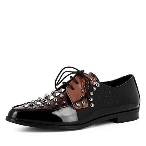 Filipa Cuir À Coloré Lacets Evita Escarpins Verni Femme Shoes pYSnqqwxC5