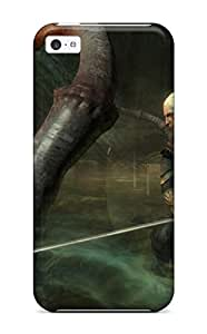 For Iphone 5c Tpu Phone Case Cover(the Witcher )